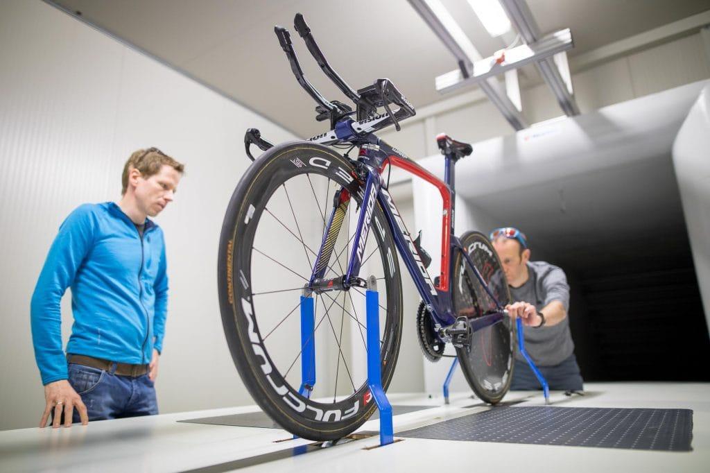 El estudio del material de las bicicletas también es parte del proceso. Foto: Daniel Geiger / Merida Europe GmbH