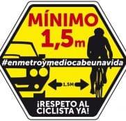 El colectivo ciclista muestra su afecto a Ane Santesteban
