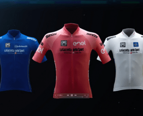 Vídeo: El Giro de Italia revela los maillots de su Centenario