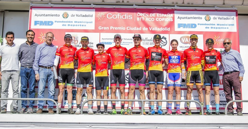 Valladolid-podio-completo