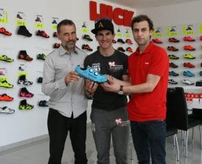 Carlos Coloma elige Luck Shoes para pedalear