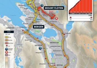 Un Mundial contrarreloj cuesta arriba en Bergen