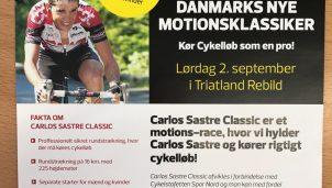 Carlos Sastre presentó en Dinamarca la 'Carlos Sastre Classic'