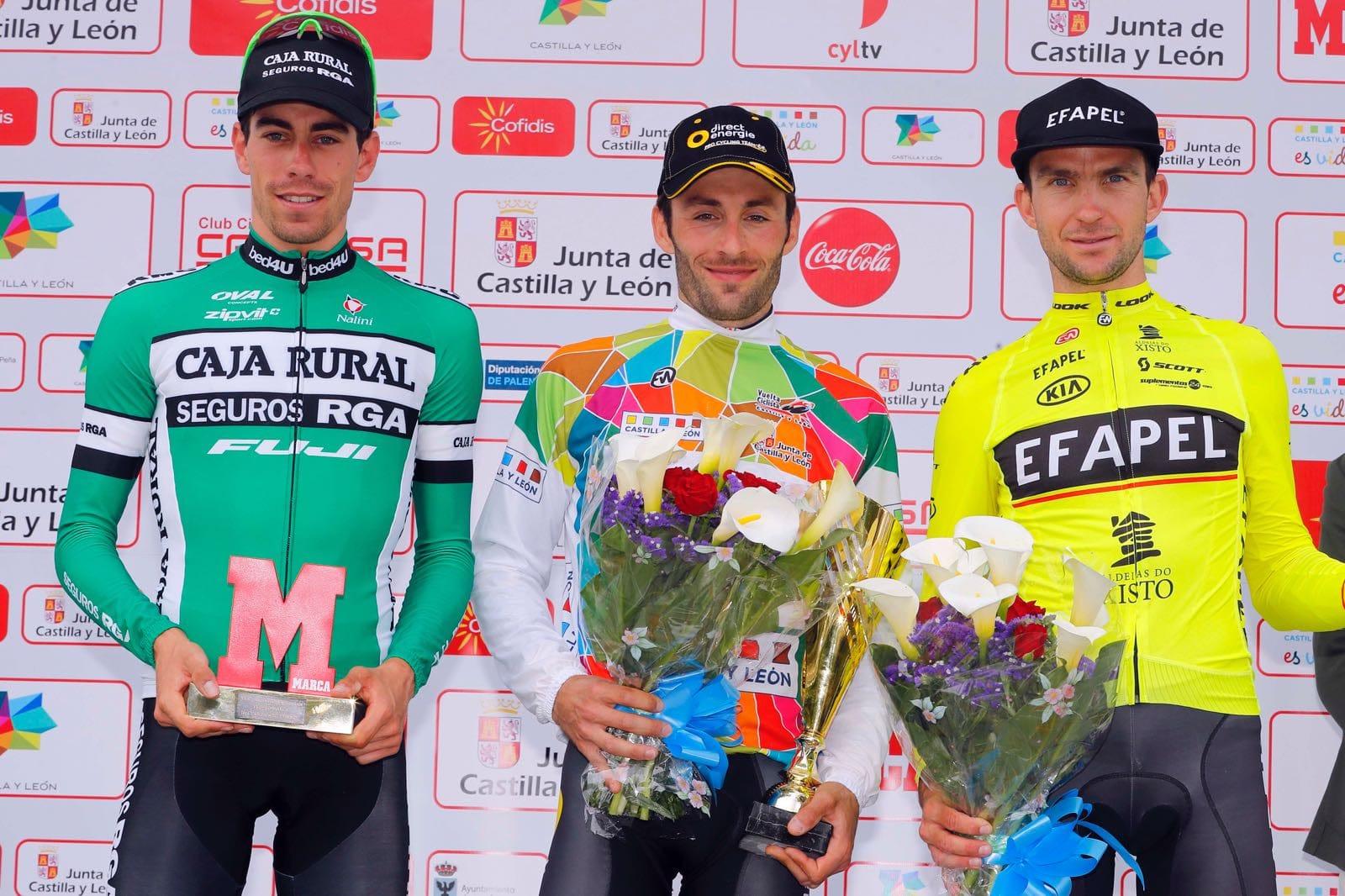 Resultado de imagen de Vuelta Castilla y Leon 2017 Hivert
