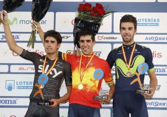 Campeonatos España: Castroviejo, con permiso de Valverde en la crono