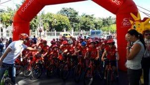 La Vuelta Junior Cofidis 2017: 1.650 escolares de Nimes a Madrid