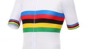Santini y la UCI presentan su colección arcoíris (Vídeo y fotos)