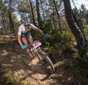 Guerra y Galicia mandan en el debut de la Catalunya Bike Race