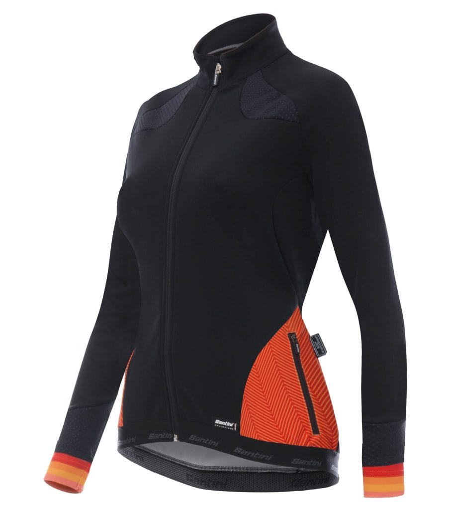 SANTINI_FW1718_Coral2.0_jacket_orange_front
