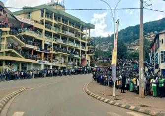 Vídeo: La espectacularidad del Muro de Kigali