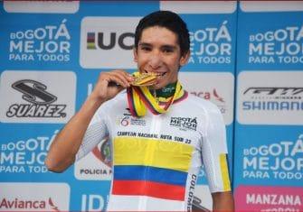 El campeón colombiano sub23, positivo
