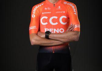 Van Avermaet, De la Parte y Ventoso lucen el naranja de CCC Team