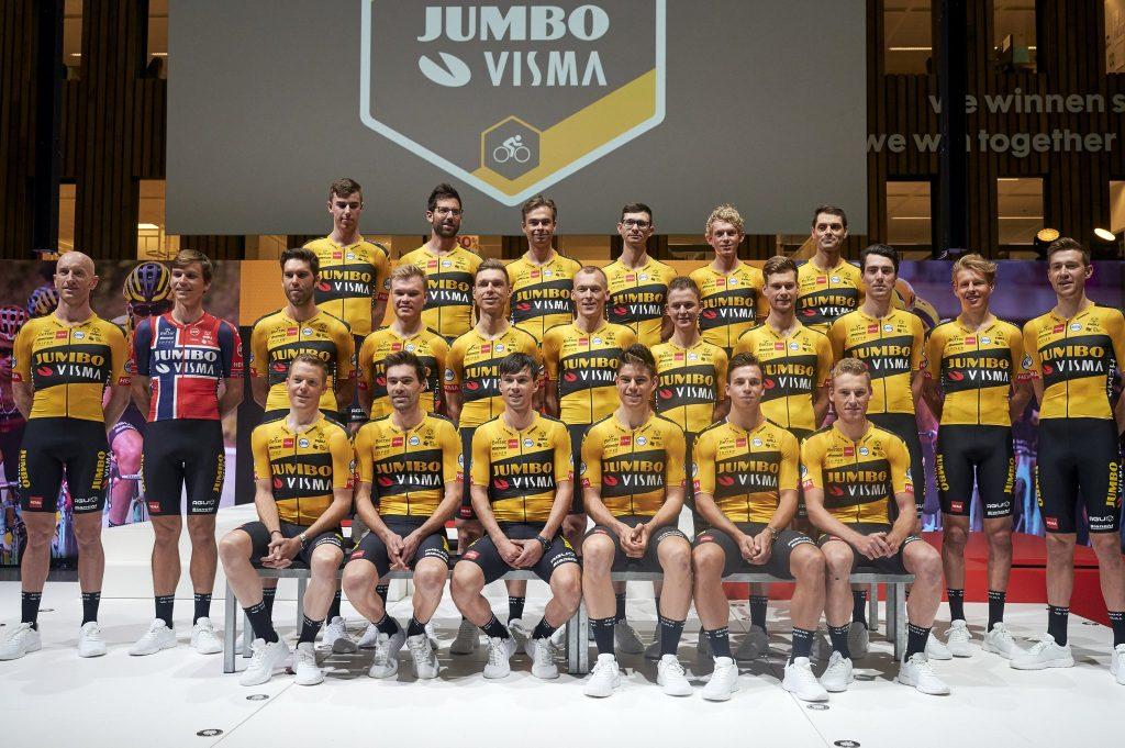 Tour de Francia 2020: El temible 'ocho' del Jumbo-Visma
