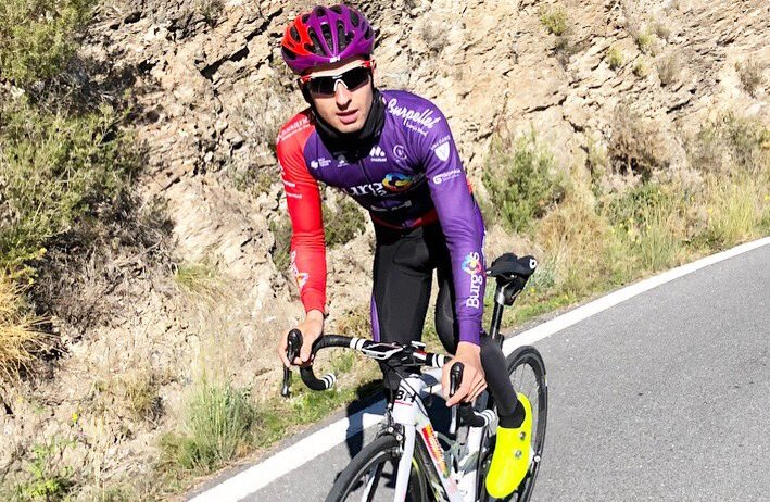 oscar cabedo burgos bh 2019 - Entrevistamos a Óscar Cabedo, el aguerrido escalador del Burgos BH