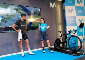 Movistar Virtual Cycling: La liga para competir como un pro sin salir de casa