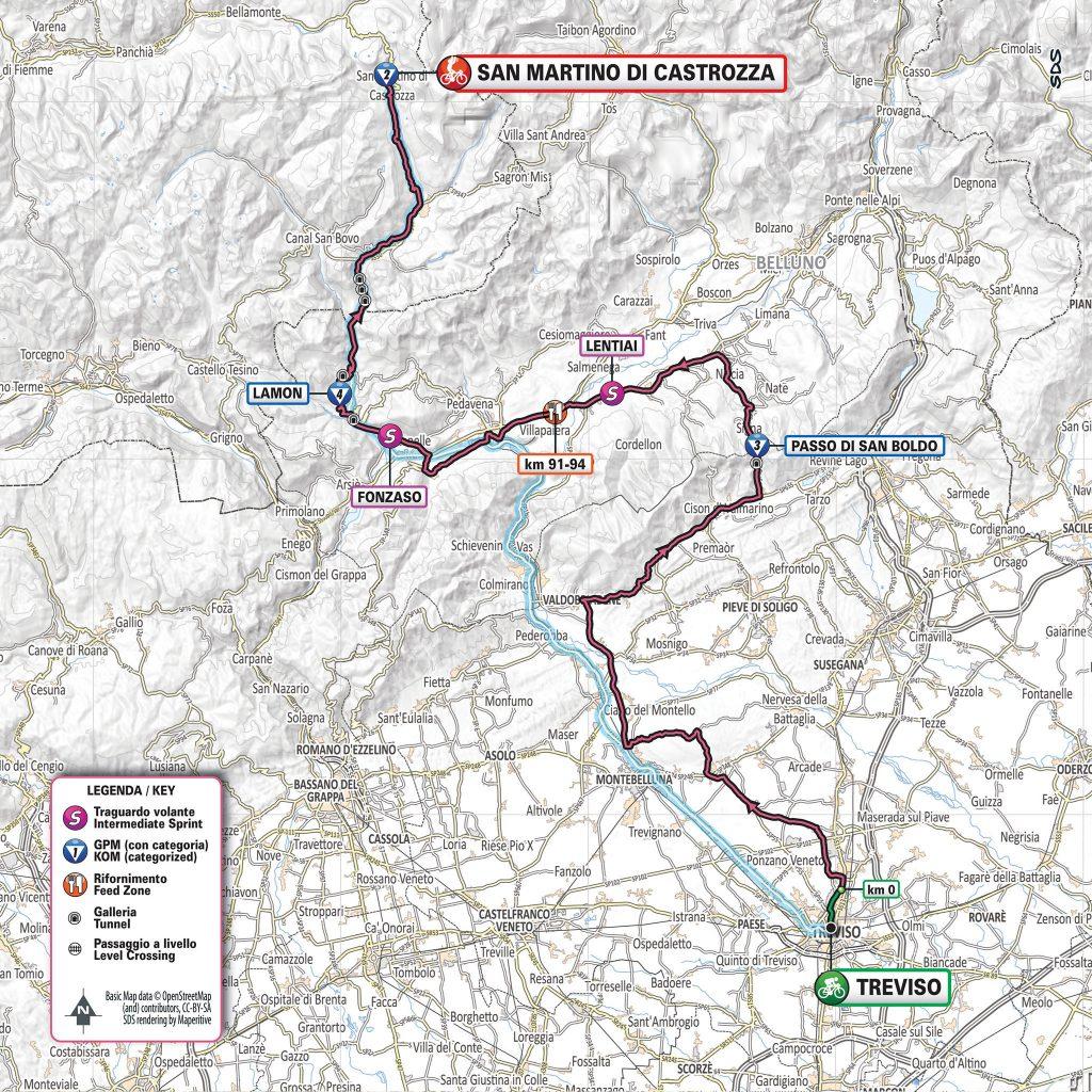 Chaves gana la 19na etapa del Giro, Carapaz sigue líder