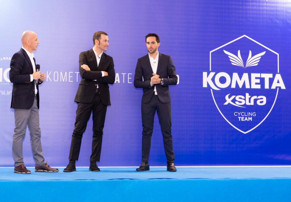 Foto: Kometa-Xstra Cycling Team