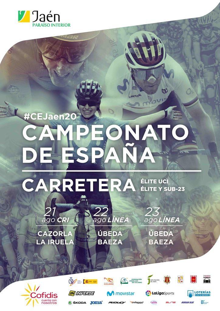 campeonatos-españa-ciclismo-carretera-2020-jaen-cartel