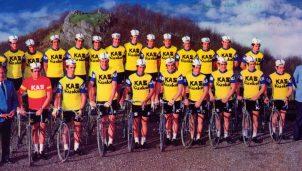 El equipo Kas: El ciclismo fue amarillo en los 60 y los 70