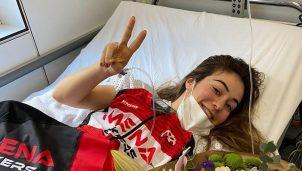 Enara López, atropellada: «Tengo suerte de poder contarlo»