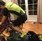 Julián Sanz recorre 776 kilómetros en el Mundial Virtual 24 horas