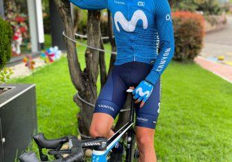 Movistar Team: Miguel Ángel López ya viste de azul