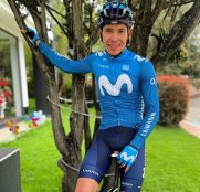 Movistar Team: Miguel Ángel López ya viste de azul