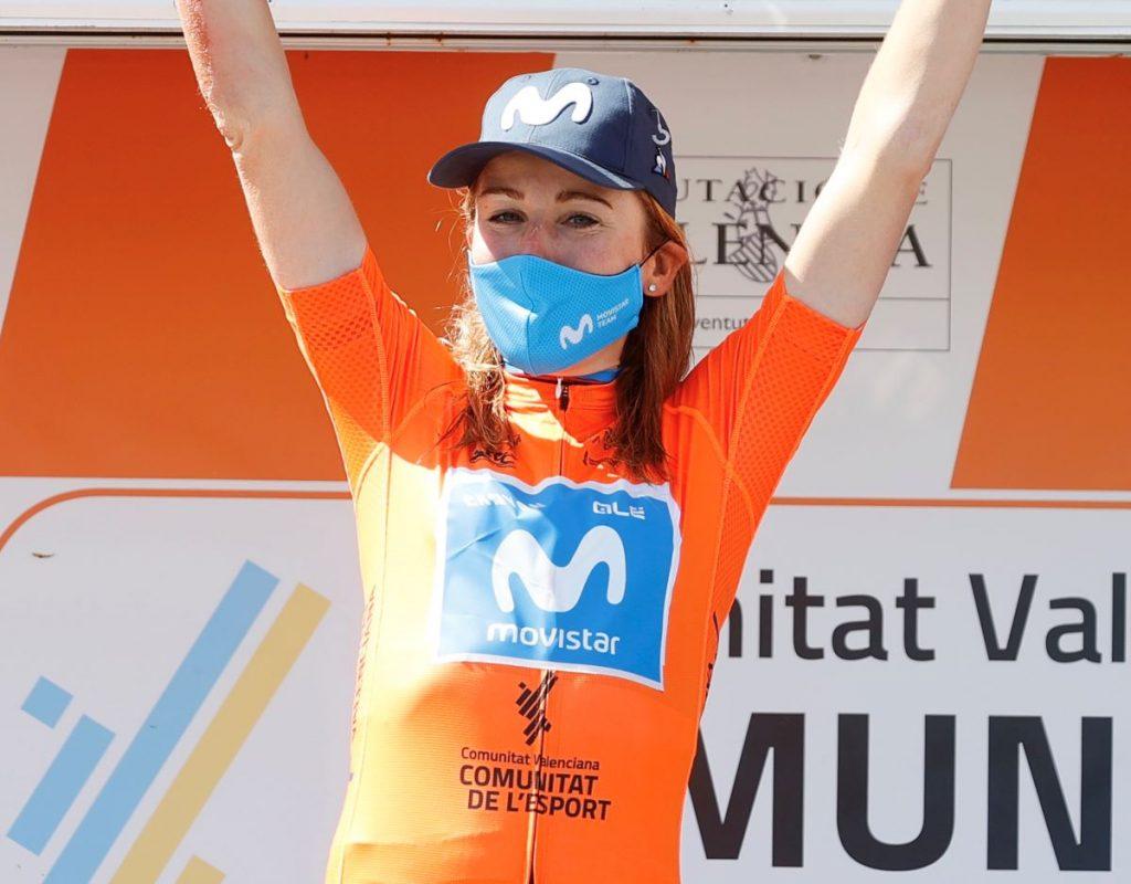 annemiek-van-vleuten-movistar-team-setmana-valenciana-2021-podio