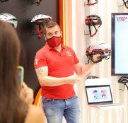 Los cascos chinos Livall abren tienda en Madrid