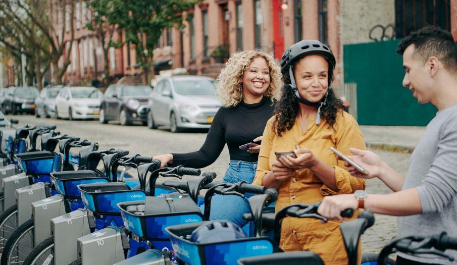 El uso de la bicicleta también se dispara en Nueva York